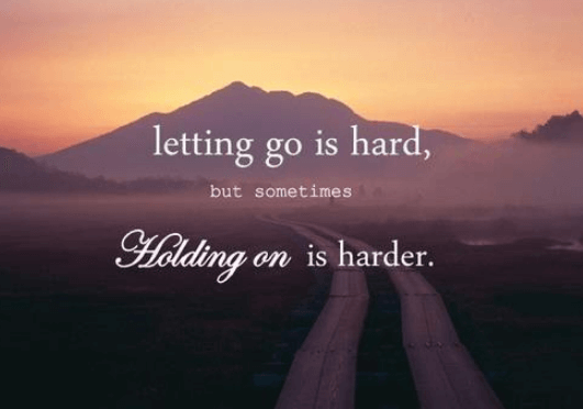 to let go of your soulmate